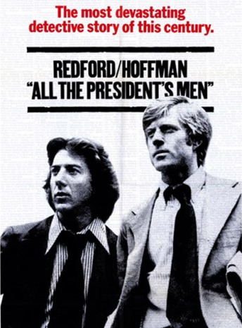 Image result for all the presidents men poster